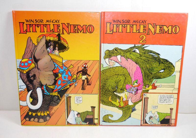LITTLE NEMO Band 1 + 2 Comic HC Winsor McCay MELZER (MF7)