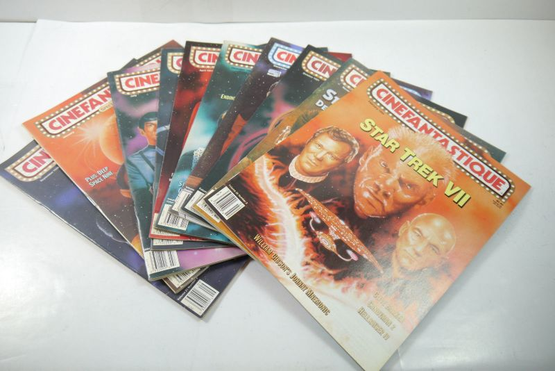 Cinefantastique  10 Film Magazine  Star Trek  1990-1996 Z : sehr  gut (WR6) 0