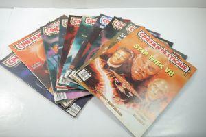 Cinefantastique  10 Film Magazine  Star Trek  1990-1996 Z : sehr  gut (WR6)