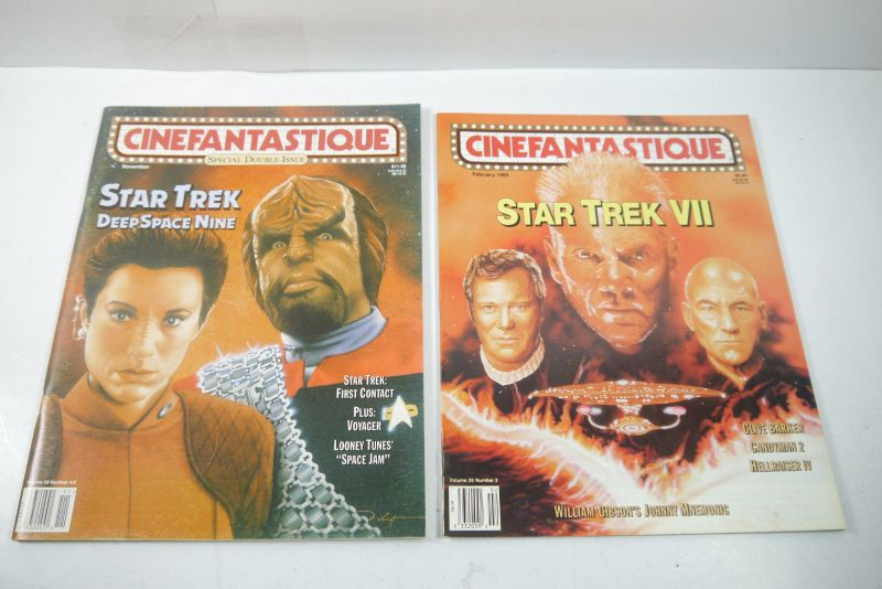 Cinefantastique  10 Film Magazine  Star Trek  1990-1996 Z : sehr  gut (WR6) 1