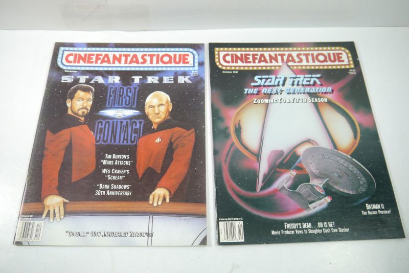 Cinefantastique  10 Film Magazine  Star Trek  1990-1996 Z : sehr  gut (WR6) 2