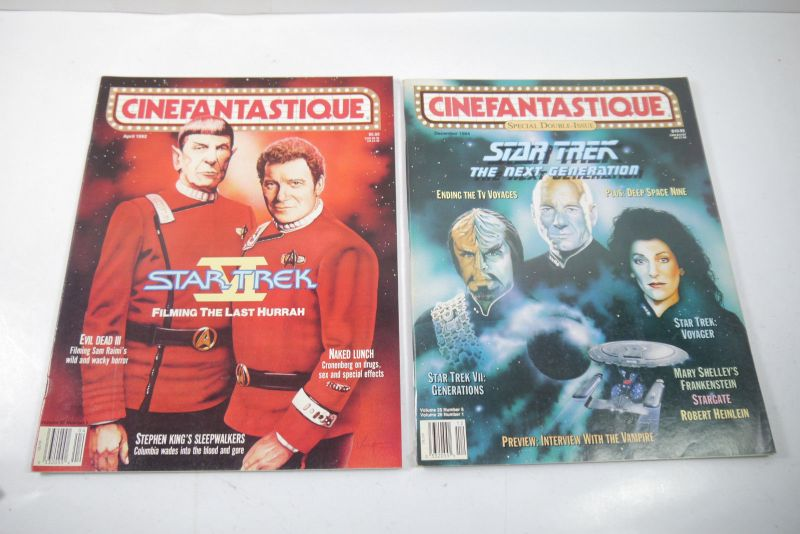 Cinefantastique  10 Film Magazine  Star Trek  1990-1996 Z : sehr  gut (WR6) 3