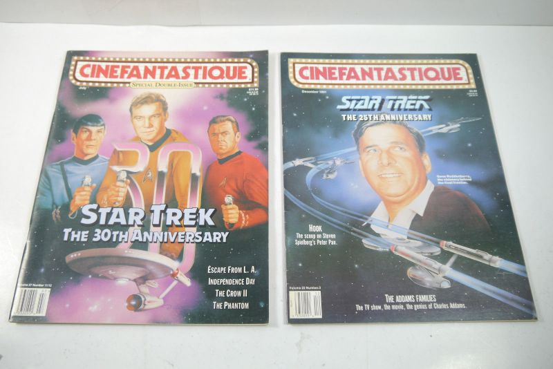 Cinefantastique  10 Film Magazine  Star Trek  1990-1996 Z : sehr  gut (WR6) 4