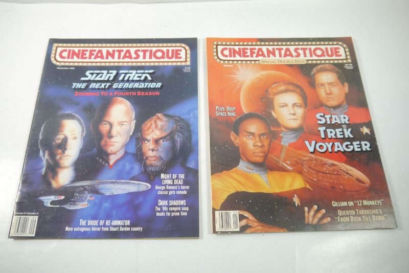 Cinefantastique  10 Film Magazine  Star Trek  1990-1996 Z : sehr  gut (WR6) 5