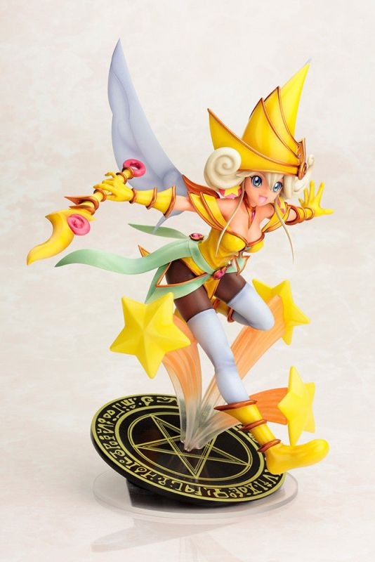 YU-GI-OH Darkside of Dimensions - Lemon Magician Girl Movie Figur KOTOBUKIYA KB*