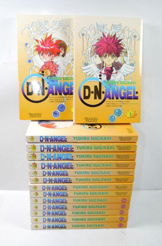 D.N.ANGEL Band 1 2 3 4 5 6 7 8 9 10 11 12 13 14 15 Manga Sugisaki CARLSEN (MF13)