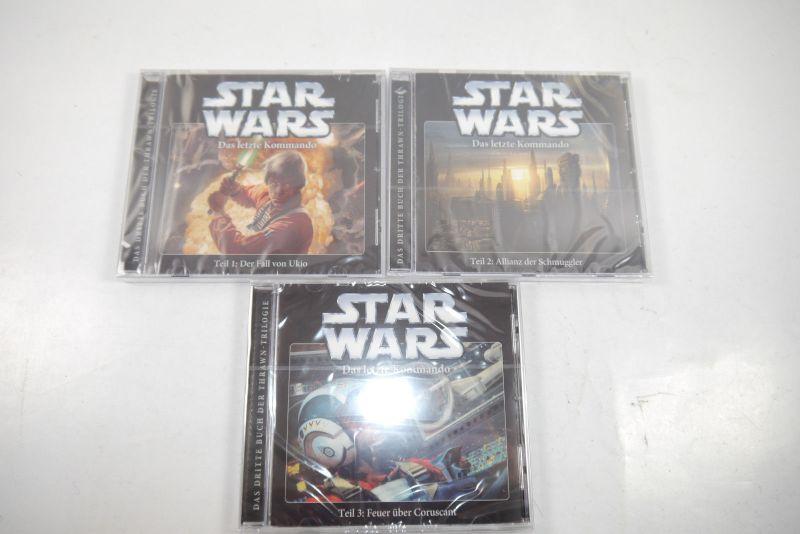 STAR WARS Das letzte Kommando - Teil 1 2 3   CD Hörspiel IMAGA Audio Neu (K30)