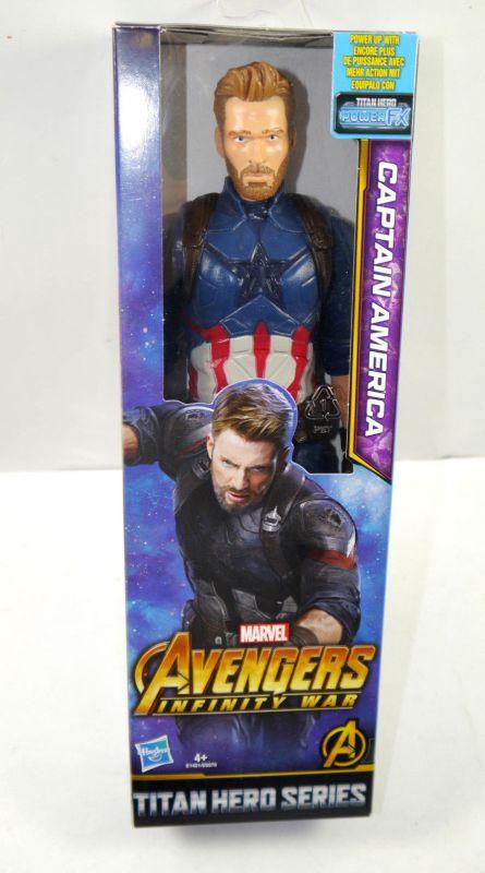 Marvel AVENGERS Infinity War - Captain America Actionfigur TITAN HERO Hasbro (L)