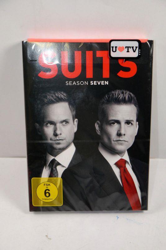 SUITS Komplette 7. Staffel ( 16 Episoden / 4 Discs ) Neu (WR4)