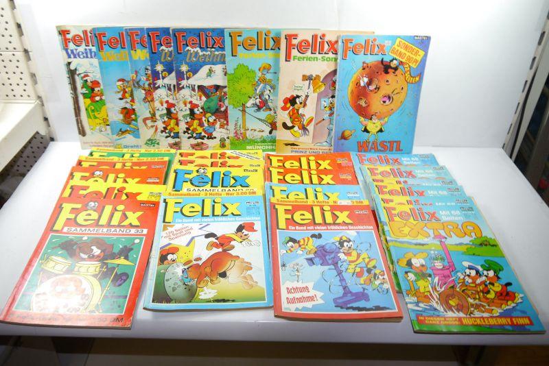Felix Konvolut  13 Sammelbände 7 Sonderhefte 6 Extra  Bastei  Z: 3-4    (MF23)