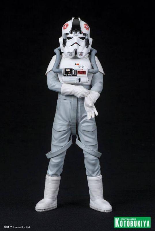 STAR WARS AT-AT Driver Figur Statue ARTFX+ Kotobukiya 1:10 Neu (KA6) *