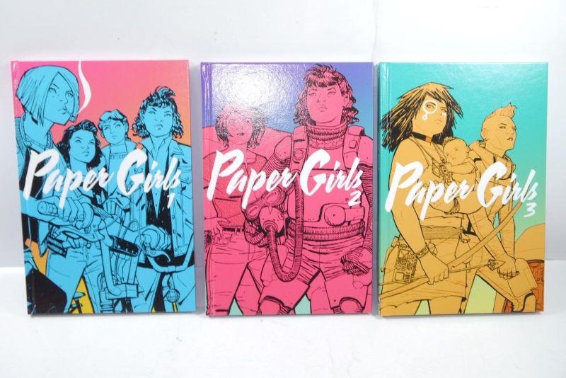Paper Girl Band 1 2 3 Cross Cult Comic  HC     Z : 1 (L)