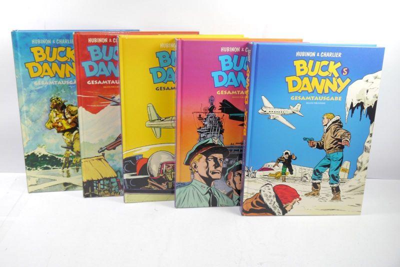 Buck Danny Gesamtausgabe Band 1-5  Salleck HC  1.Auflage   Z : 1 (L)