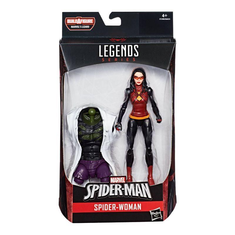 MARVEL LEGENDS Spider-Man : Spider-Woman Actionfigur + LIZARD Hasbro Neu (L) *