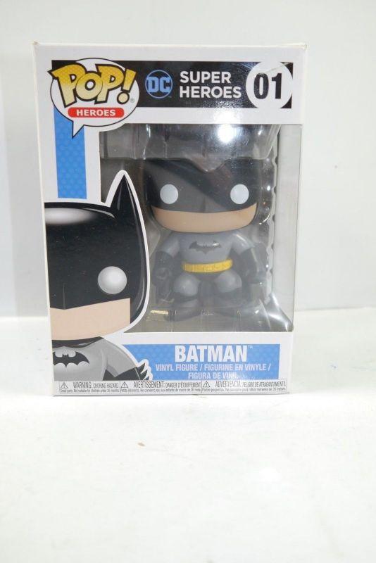 Batman Super Hersoes 01 Figur  Pop   FUNKO ca.9cm (L)