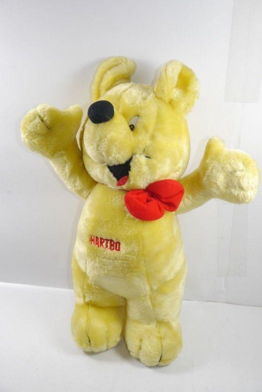 HARIBO Goldbär  Teddy Bär Stofftier Werbefigur Maskottchen ca.40cm (K23)