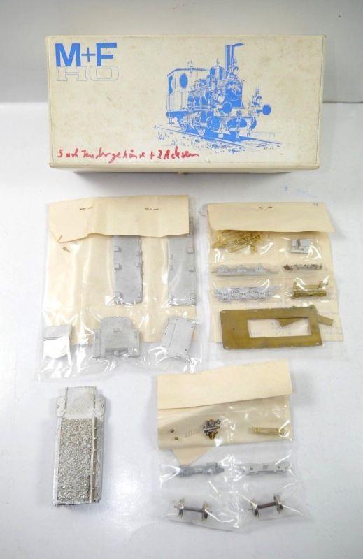 MERKER + FISCHER 016 30 5-achsiger Kohletender Tendergehäuse Bausatz H0 (MF11)#A
