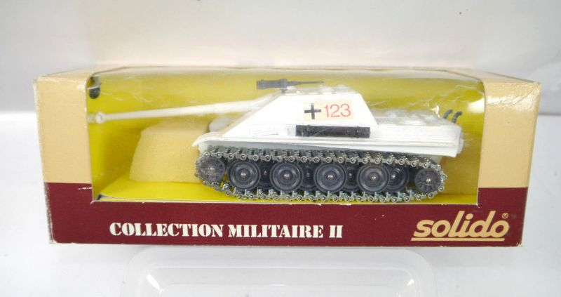 SOLIDO Collection Militaire II 6064 Panther Panzer tank Metall Modell 1:50 (K73)