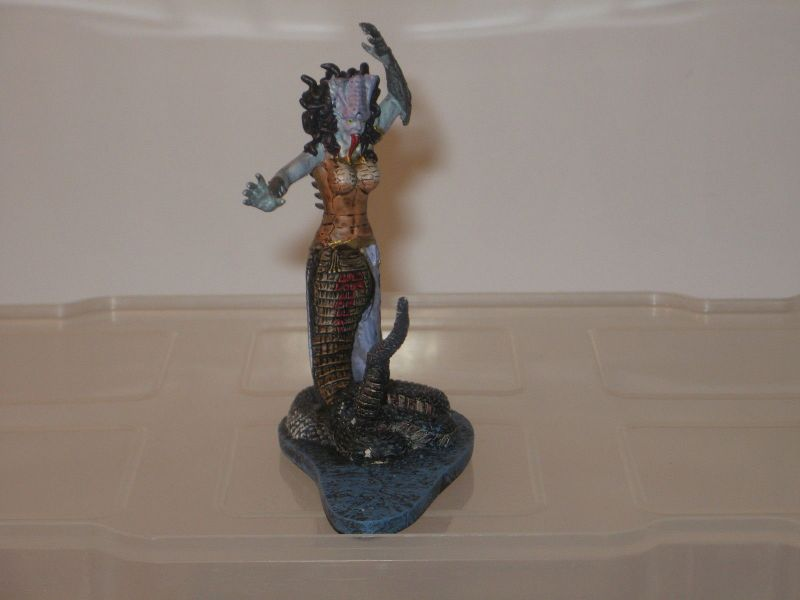 MYTHOS griechischer Götter Medusa   DE AGOSTINI ca.8 cm  NEU     OVP #3