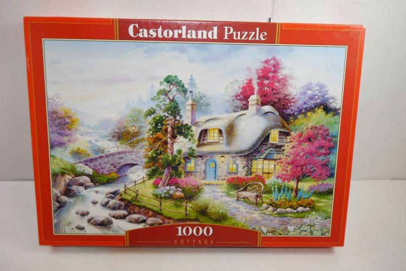 Castorland Puzzle  Cottage  1000 Teile  Nr.  c-101047     (F3)
