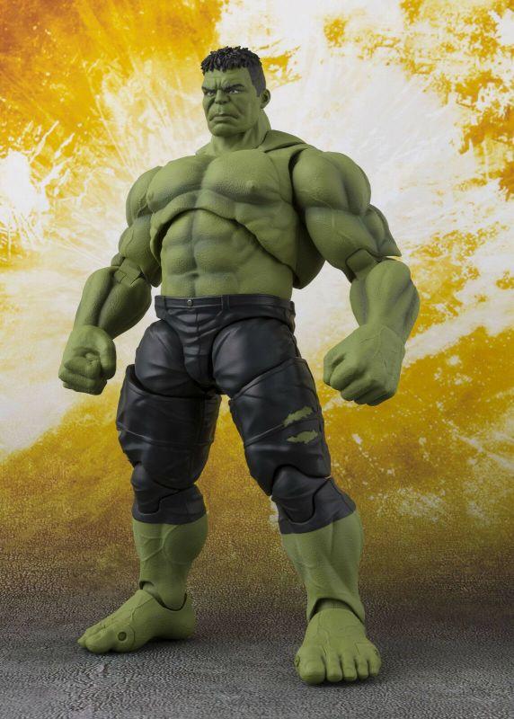 Marvel AVENGERS Infinity War - Hulk Actionfigur BANDAI Tamashii ca.21cm NEU (L)