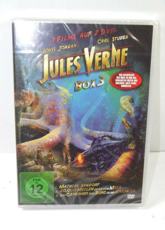 JULES VERNE Box 3 - 3 Filme auf 2 DVD 's DVD 20.000 Meilen unter dem Meer (WR4)