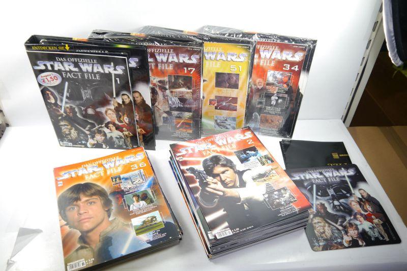 Das offizielle Star Wars Fact File Heft 1 - 51 + 4 Ordner  DeAgostini Z:1 (WR6)