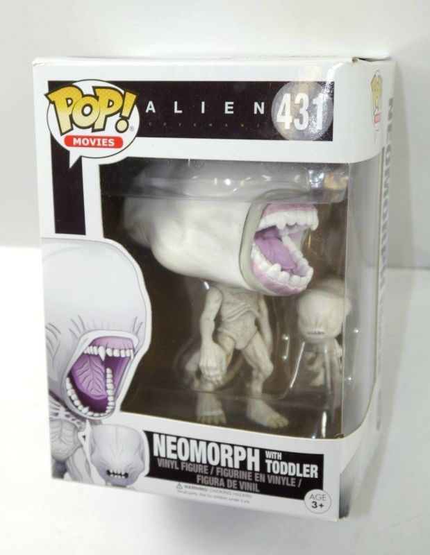 ALIEN Neomorph mit Toddler Actionfigur POP MOVIES Funko mit OVP (L)