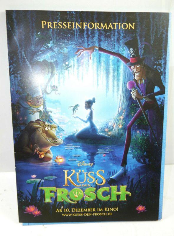 Disney KÜSS DEN FROSCH Princess & the Frog Presseinformation / Pressemappe (WR8)