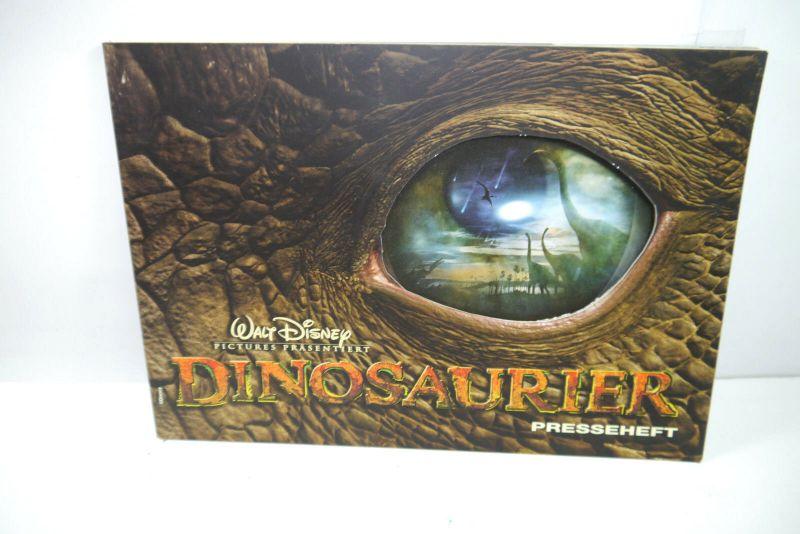 Walt Disney DINOSAURIER Presseheft pressbook ( 68 Seiten ) 2000 (WR4) 0