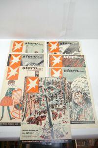 Das Sternchen Beilage zum Stern 7 Hefte von 1960  Zustand : 1-2   (WR3)