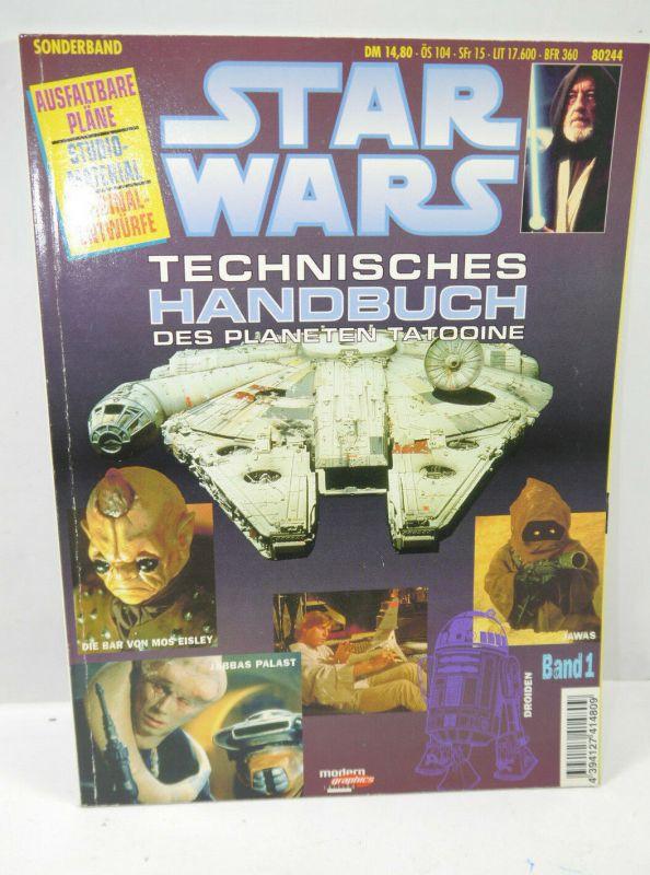 STAR WARS Sonderband 1 - Technisches Handbuch des Planeten Tatooine Magazin WR8