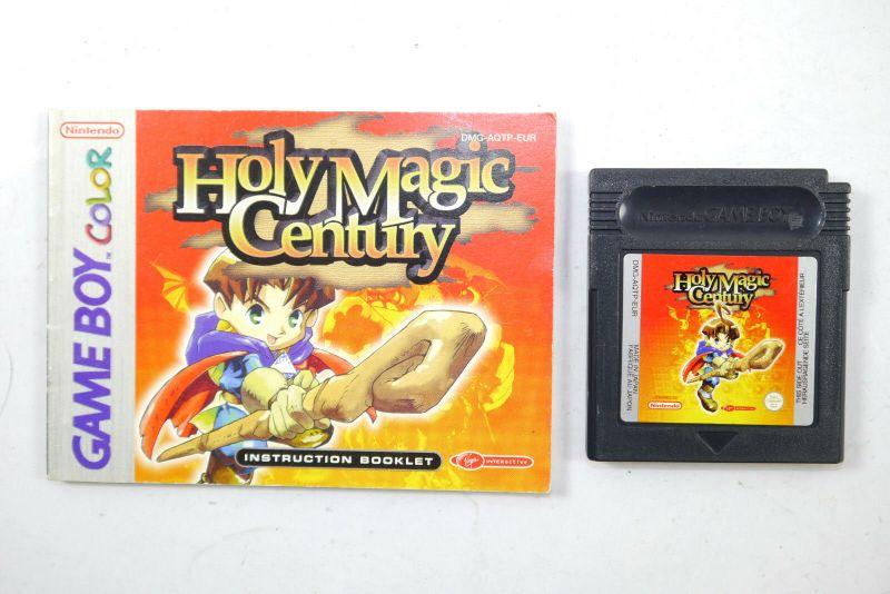HOLY MAGIC CENTURY Spiel GAME BOY COLOR mit Spielanleitung Nintendo (K85)