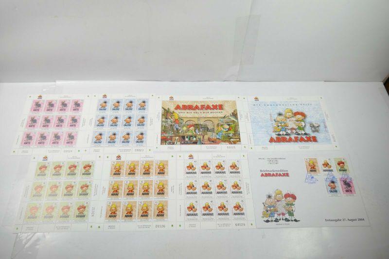 PIN AG Briefmarkenedition  ABRAFAXE Mosaik  kompletter Satz  TOP   (WR3)