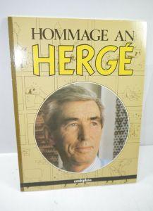HOMMAGE AN HERGÉ Comic Softcover COMICPLUS + (1. Auflage ) (WR4)
