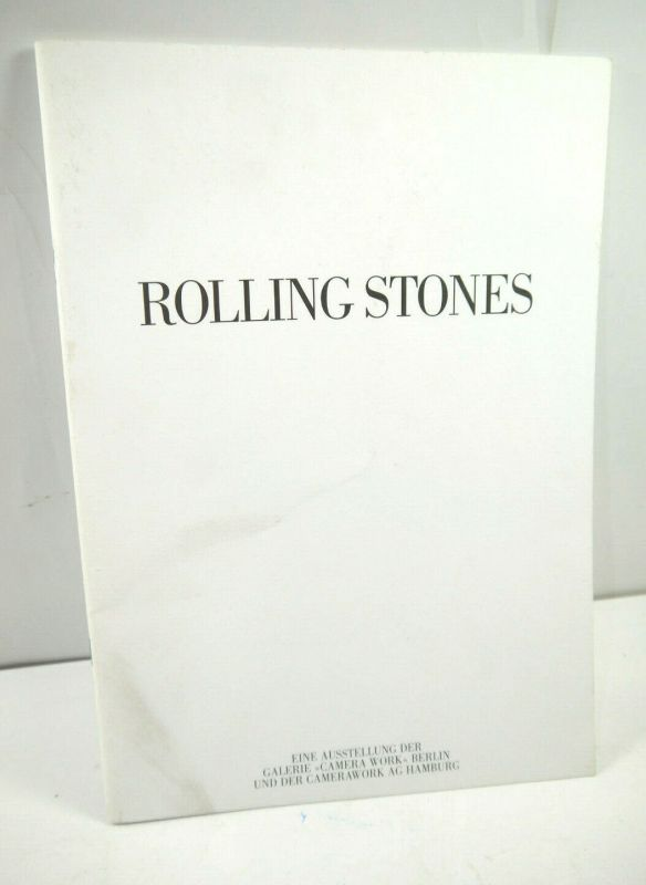 ROLLING STONES Ausstellung CAMERA WORK Berlin 2003 Publikation Heft (WR2)