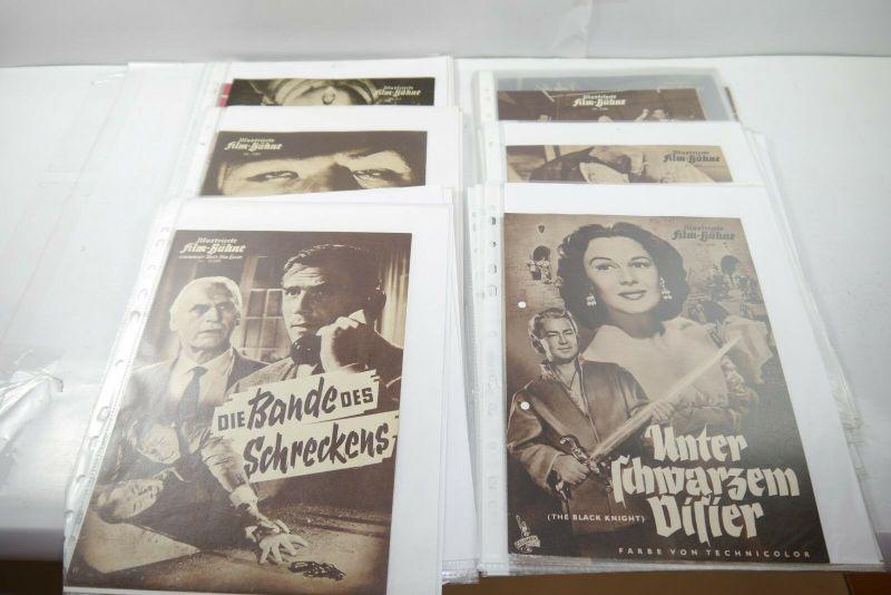 Illustierte Film Bühne   213  Programme Sammlung Konvolut Filmprogramme (WR4)