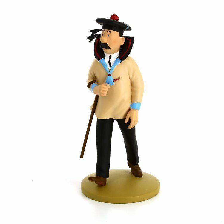 TIM & STRUPPI Tintin Schultze der Seeman Figur MOULINSART ca.12cm NEU (L)*
