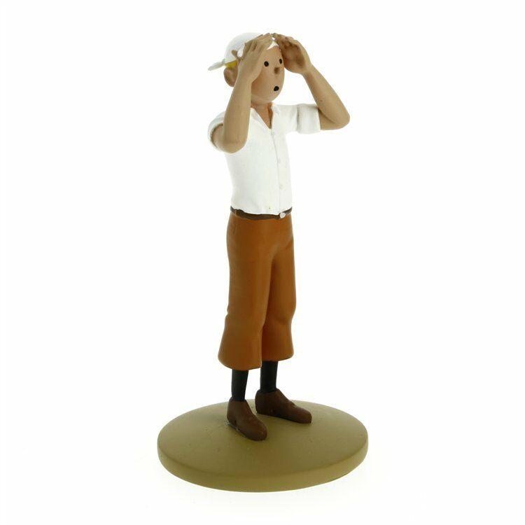 TIM & STRUPPI Tintin in der Wüste Figur MOULINSART ca.12 cm NEU (L)*