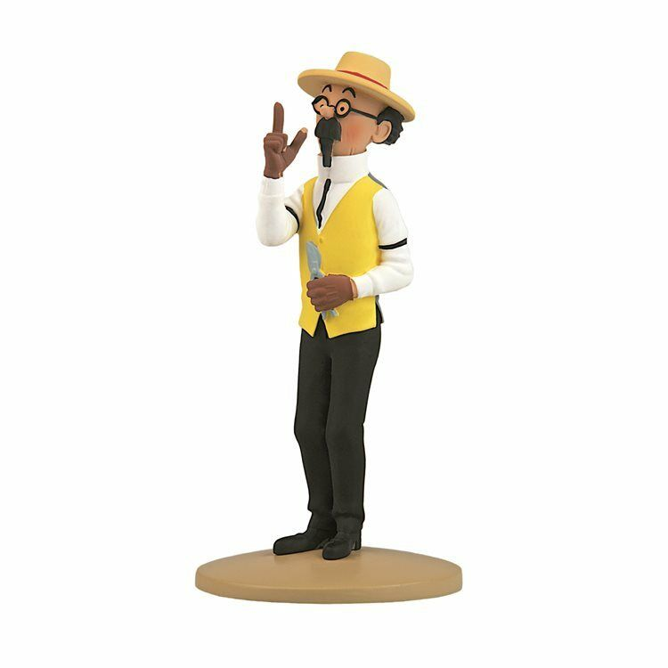 TIM & STRUPPI Tintin Bienlein der Gärtner Figur MOULINSART ca.12 cm NEU (L)*