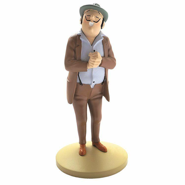 TIM & STRUPPI Tintin Oliveira da Figueira Figur MOULINSART ca.12cm NEU (L)*