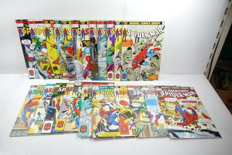 The Amazing  Spider-Man 23 Hefte  Nr. 140 bis 162   PANINI COMICS Z:1   WR1