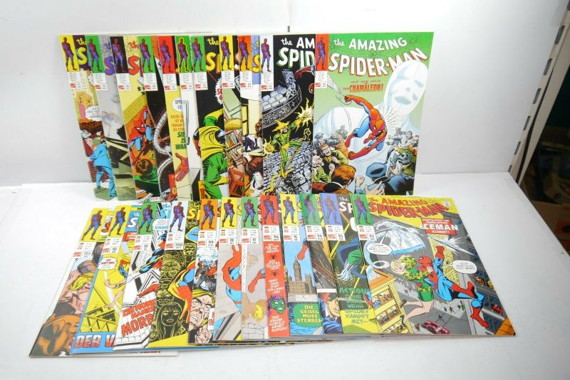 The Amazing  Spider-Man 23 Hefte  Nr. 80 bis 103   PANINI COMICS Z:1   WR1