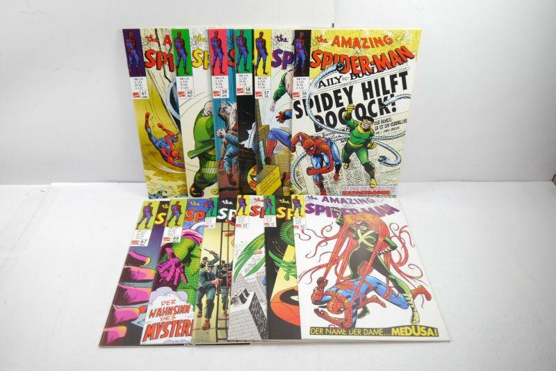 The Amazing  Spider-Man 12 Hefte  Nr. 56 bis 67   PANINI COMICS Z:1   WR1