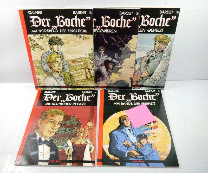 DER BOCHE Band 1 2 3 4 5 Comic SC COMICPLUS + Stalner , Bardet (L)
