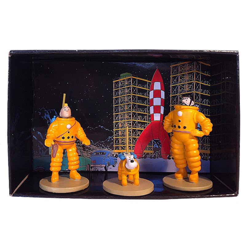 TIM & STRUPPI Tintin Tim Struppi Haddock Astronauten Set 29255 MOULINSART L*