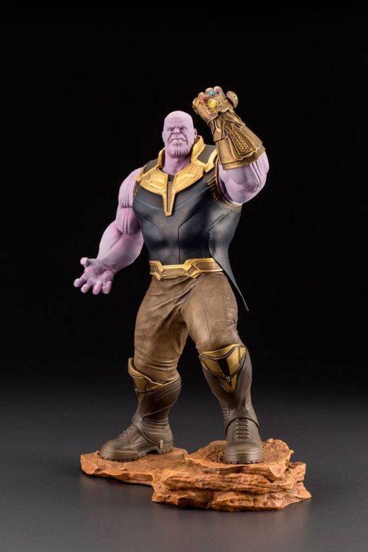 AVENGERS Infinity War Thanos PVC Statue Figur ARTFX+ Kotobukiya 1/10 28cm (KA3)*