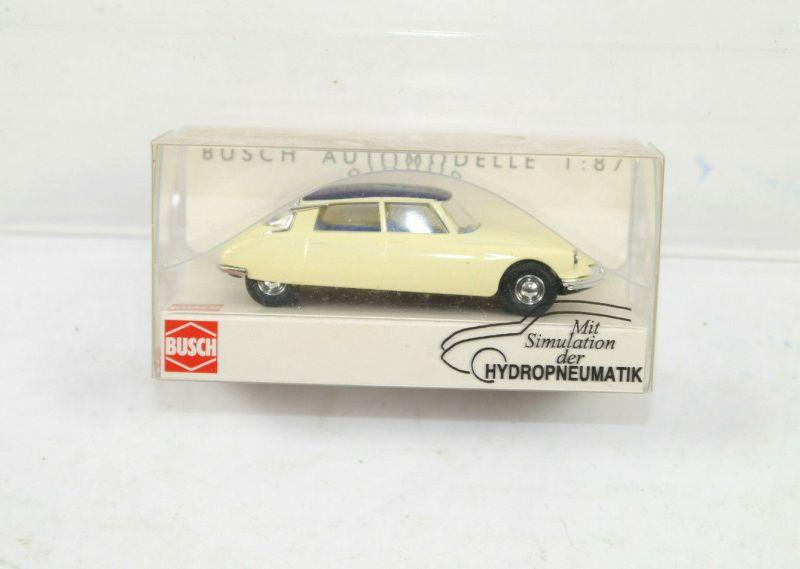 BUSCH 48001 Citroen DS 19 Limousine 55 Modellauto 1:87 (K11) #23