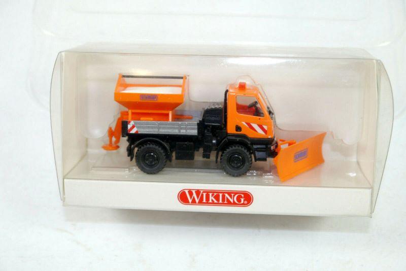 WIKING 0646 05 37 Unimog U20 Winterdienst SCHMIDT Modellauto 1:87 (K11) #19