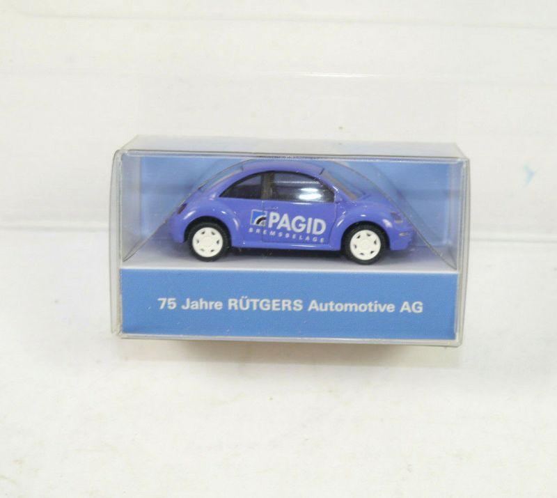 WIKING - PAGID 75 Jahre Rütgers VW Beetle Werbemodell Modellauto 1:87 (K11) #18